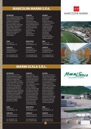 MARMI SCALA S.R.L. MARCOLINI MARMI S.P.A. - Videomarmoteca
