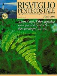 PENTECOSTALE - Assemblee di Dio in Italia