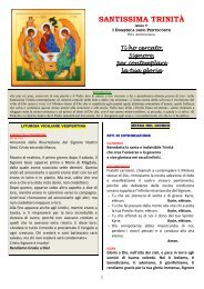 SANTISSIMA TRINITÀ - Parrocchia di Ossona