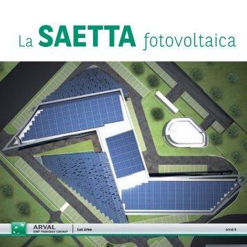 La SAETTA fotovoltaica - Baraclit b.POWER