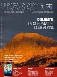 LO SCARPONE 01 - Club Alpino Italiano
