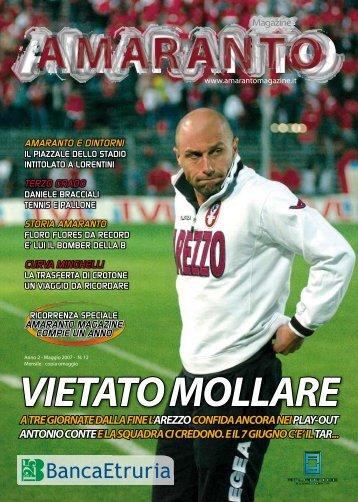 Amaranto magazine maggio 2007