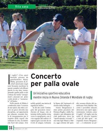 Concerto per palla ovale - Città Nuova Editrice