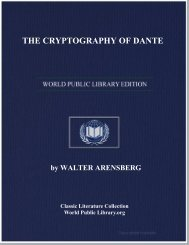 THE CRYPTOGRAPHY OF DANTE - World eBook Library