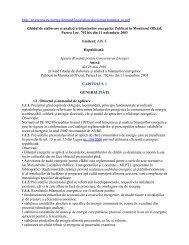 Ghidul de elaborare şi analiză a bilanţurilor energetice Publicat în ...