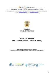 San Felice sul Panaro - Patto Sindaci Provincia di Modena