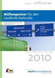 Müllwegweiser für den Landkreis Karlsruhe - Kürnbach