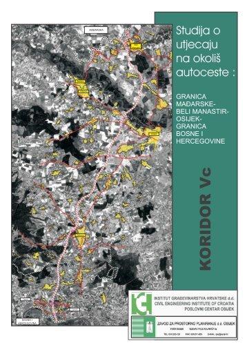 Studija o utjecaju na okoliš autoceste_KORIDOR-Vc - HAC