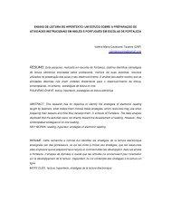 ensino de leitura do hipertexto - Hipertextus Revista Digital
