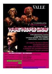 comunicato magic people show - Dipartimento di Storia dell'Arte e ...