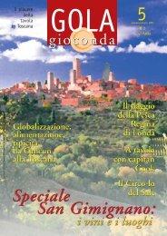 gioconda - Gola gioconda - I piaceri della tavola in toscana, in Italia ...