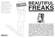 NUMERO 21 INVERNO 2006 / COPIA GRATUITA ... - Beautiful Freaks