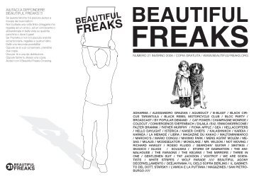 NUMERO 21 INVERNO 2006 / COPIA GRATUITA ... - Beautiful Freaks