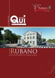 notiziario Aprile 2012 - Comune di Rubano