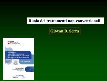 Ruolo dei trattamenti non-convenzionali