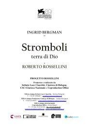 Scarica il pressbook completo - Cineteca di Bologna