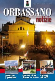 Giugno 2010 - Comune di Orbassano