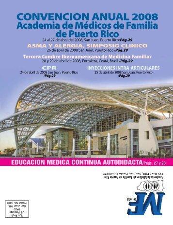 abril 08 - Academia de Medicos de Familia de Puerto Rico