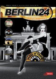 Berlin 24 Das Magazin Nr.18