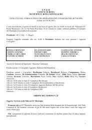 Servizio Asilo Nido nel IV Municipio - Comune di Roma