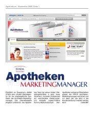 Apothekium, September 2009, Seite 1