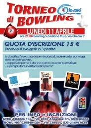 Guarda la rassegna stampa - Bowling San Giuliano