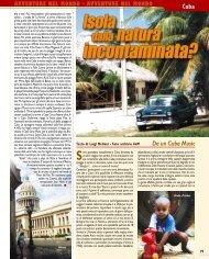 Cuba. Isola dalla natura incontaminata? - Viaggi Avventure nel mondo