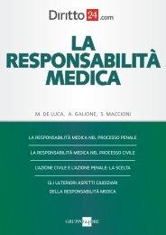 La responsabilità medica - ANF Pescara