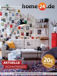 Home24 Katalog Winter 12/13