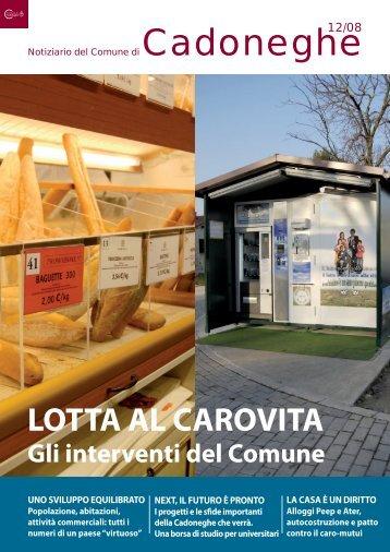 12/08 Lotta al carovita - Comune di Cadoneghe