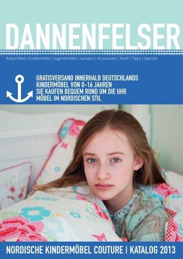 DANNENFELSER KINDERMÖBEL COUTURE | KATALOG 2013