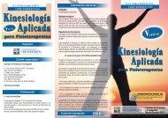 Triptico Kinesiologia Aplicada 5ªedic..cdr - Colegio Profesional de ...