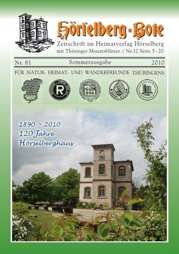 Gasthaus & Pension - Hörselberg-Bote