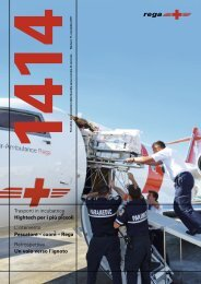 1414 Periodico dei sostenitori della Guardia aerea svizzera ... - Rega