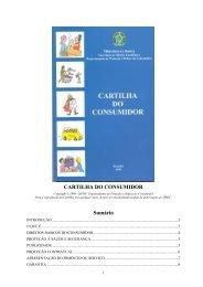 CARTILHA DO CONSUMIDOR - Procon RS