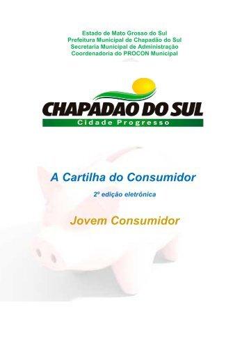 A Cartilha do Consumidor - Jovem Consumidor - Prefeitura ...