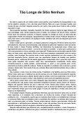 Tão Longe de Sítio Nenhum - Page 2
