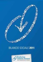 Bilancio Sociale 2011 - Fondazione Umberto Veronesi