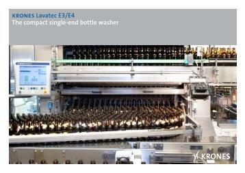 krones Lavatec E3/E4 The compact single-end bottle ... - Krones AG