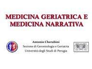 "LA ""MEDICINA NARRATIVA"" - Associazione Geriatri Extraospedalieri"