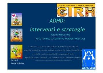 materiali INCONTRO 3 - CTRH Appiano Gentile