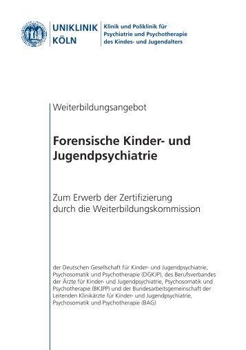 Forensische Kinder- und Jugendpsychiatrie - Zentrum für ...