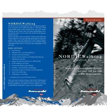 NORDICWalking - Vitalhof Tunelhof