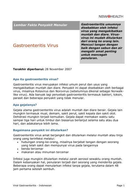 apa itu rotavirus