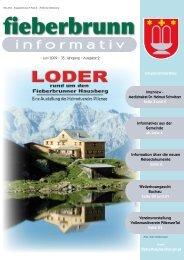 informativ - Fieberbrunn - Land Tirol