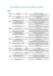 Clique aqui e veja o calendário de vacinas - Instituto Corpore