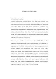 III. METODE PENELITIAN 3.1 Pendekatan Penelitian Penelitian ini ...