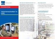 Industriemechaniker/-in (IHK) - Bfz-Essen GmbH