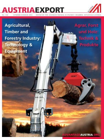 Agrar, Forst und Holz - Advantage Austria
