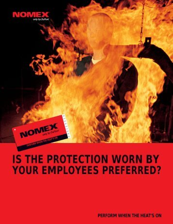 IS THE PROTECTION WORN BY - DuPont